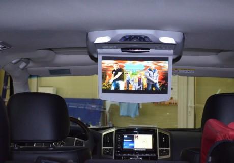 Установка потолочного монитора XM 12 дюймов