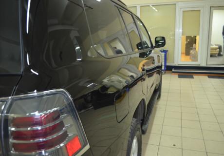 Восстановительная полировка и комплексное дооснащение Land Cruiser 200