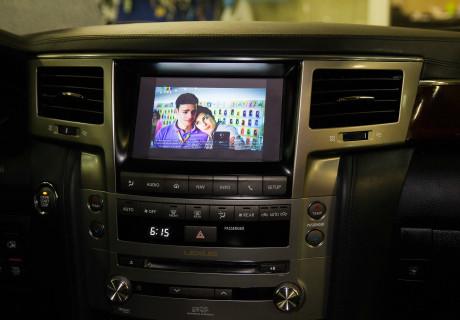 Установка ТВ-тюнера на Lexus LX570