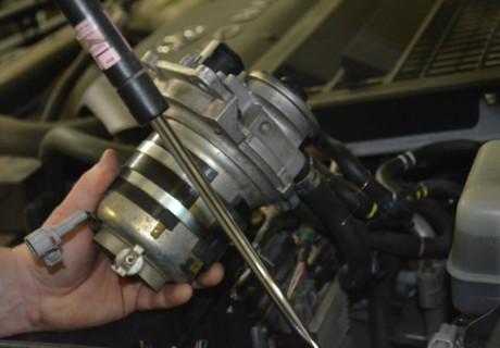 Установка подогрева топливного фильтра на дизель Land Cruiser 200