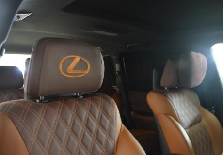 Перешив салона Lexus LX 570 Sport