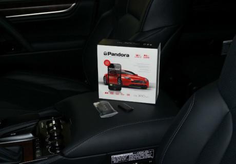 Автозапуск на базе Pandora 3910 Pro на Lexus LX450d