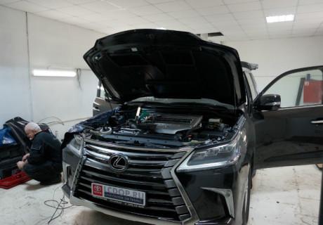 Множество доработок на Lexus LX 450d